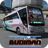 Livery Budiman double decker