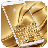 Luxury Gold Keyboard Theme  Latest Version Download