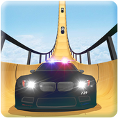 US Police Mega Ramp Car Stunts Racing: Cop Driving  Latest Version Download