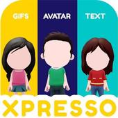 XPRESSO Memoji 3D Avatar Anime Animoji Gif Sticker