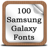 100 SamsungGalaxy Fonts