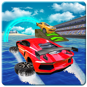 Water Car Surfer Racing Park: 3D Cars Stunt Game  Latest Version Download