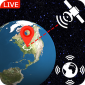 Live Earth Map Real Time: Satellite View GPS Track