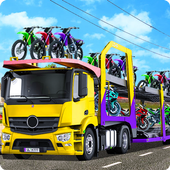 Bike Car Cargo Transport Truck