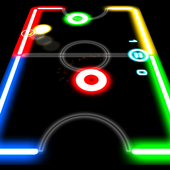 Glow Hockey 1.3.4 Android for Windows PC & Mac