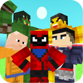 Download Superhero Champions: Blocky Universe 0.3 APK File for Android