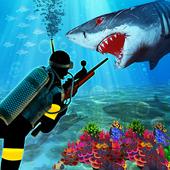 Scuba Diver Sniper Fury: Blue Whale Shark Hunter