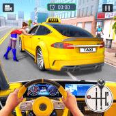 Modern Taxi Car Simulator : Car Driving Games