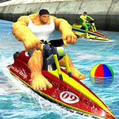 Super Hero Boat Racing  in PC (Windows 7, 8 or 10)