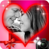 romantic true love photo frame Latest Version Download