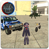 Stickman Rope Hero Vegas Mafia Crime Simulator  Latest Version Download