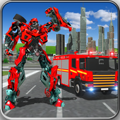 Fire Truck Real Robot Transformation: Robot Wars Latest Version Download