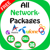 All Network Packages Pakistan 2017 2.5 Android for Windows PC & Mac
