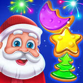 Christmas Cookie Santa Claus's Match 3 Adventure APK 3.3.3