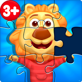 Puzzle Kids - Animals Shapes and Jigsaw Puzzles  For PC