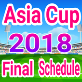 Asia Cup 2018 Final Schedule 1.3 Latest Version Download