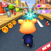 Cat and Jerry surf the subway Dash  Latest Version Download