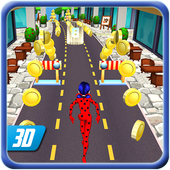Subway Lady Bug Run  Latest Version Download