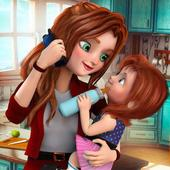 Virtual Mother Family Game: Working Mom Simulator For PC