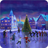Christmas Rink Live Wallpaper  Latest Version Download