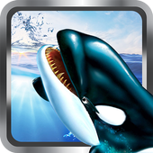 Killer Blue Orca Whale Attack Sim 3D: Whale game  in PC (Windows 7, 8 or 10)