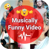 Download Funny Musically Video Status - मजेदार वीडियो ❤️ on PC