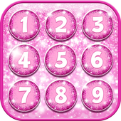 Pink Glitter Lock Screen  APK 1.6