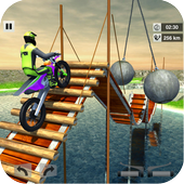 Bike Stunt Mega Tracks: Sky Ramp  For PC