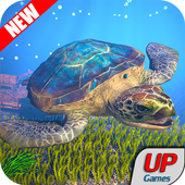 Sea Turtle Simulator 2018: Turtle Adventure games