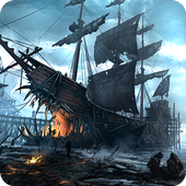Ships of Battle: Ages of Pirates -Wars 'n Strategy  in PC (Windows 7, 8 or 10)