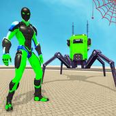 Flying Spider Rope Hero: Gangster Crime City