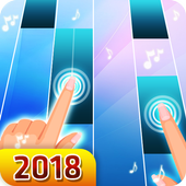 Blue Piano 2018 1.3 Android for Windows PC & Mac