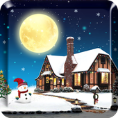 Snowfall Free Live Wallpaper  For PC