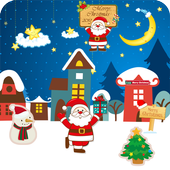 Christmas City Live Wallpaper  For PC