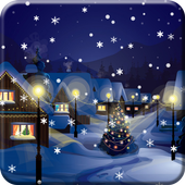 Snow Night City live wallpaper  APK 1.2.9