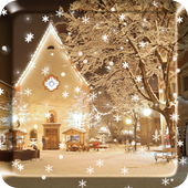 2017 Christmas snow night live wallpaper For PC