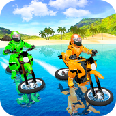 Waterpark Bike Racing 1.0 Android for Windows PC & Mac