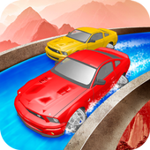 Waterpark Car Racing  Latest Version Download