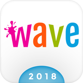 Wave Animated Keyboard + Emoji Latest Version Download