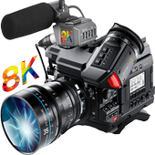 8K HD Video camera  For PC
