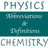 Physics, Chemistry Abr & Defs Latest Version Download