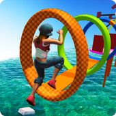 Water Park Games: Stunt Man Run 2017 For PC