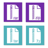 Rar Zip Tar 7Zip File Explorer app in PC - Download for Windows 7, 8