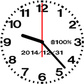 Designing analog clock-No05 app in PC - Download for Windows 7, 8