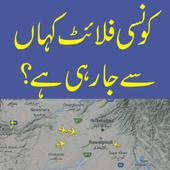 Free Flight Tracker for Pakistan