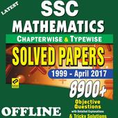 SSC Mathematics Chapter Wise Solved Paper 1999-17  Latest Version Download