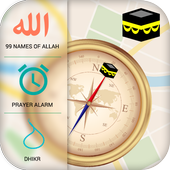 Qibla Compass & Prayer Times  APK 5.9