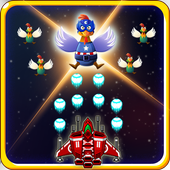 Chicken Shoot Galaxy Invaders! 1.1 Android for Windows PC & Mac