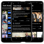 Download Dark Theme Mode for Facebook 4.00 APK File for Android