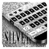 Silver Keyboard APK 10001001